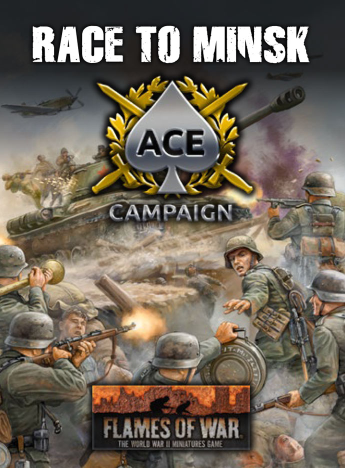 Race To Minsk Ace Campaign - Flames Of War