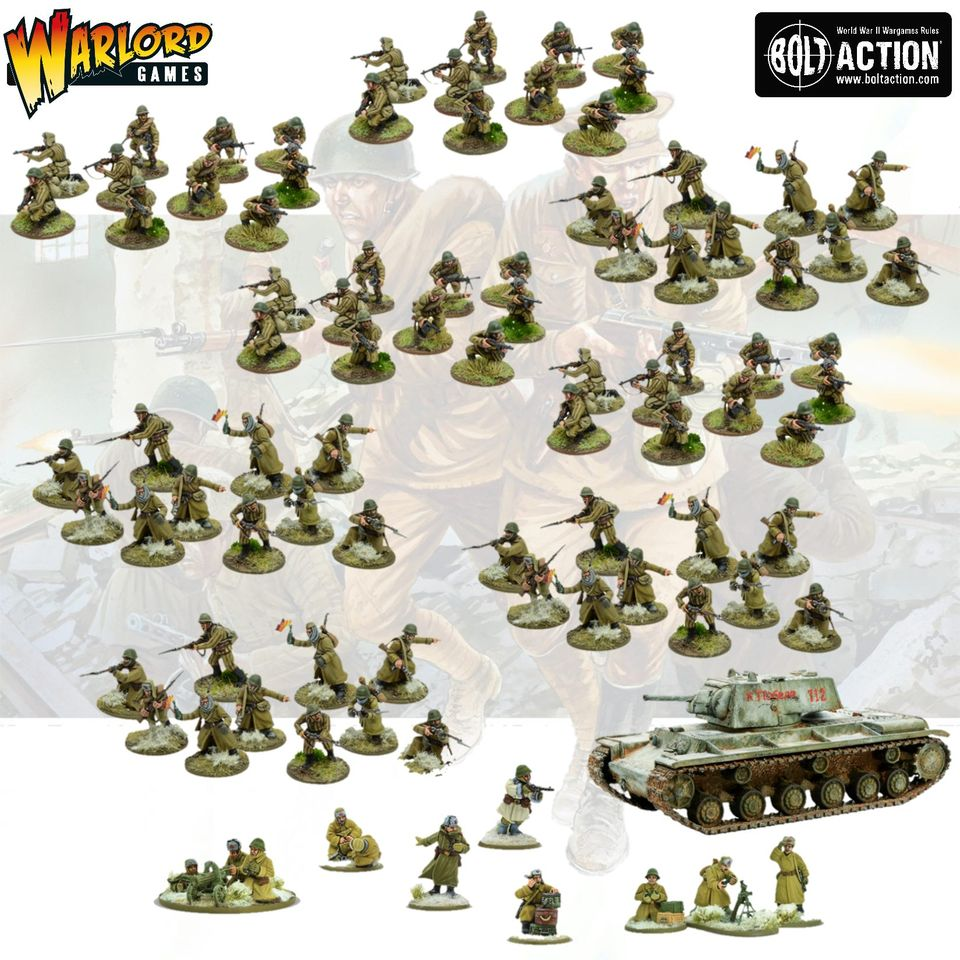 Soviet Army (Winter) Starter Army - Bolt Action