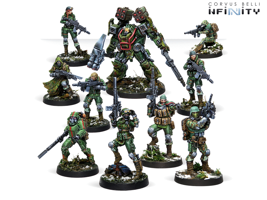 Tartary Army Corps Action Pack - Infinity