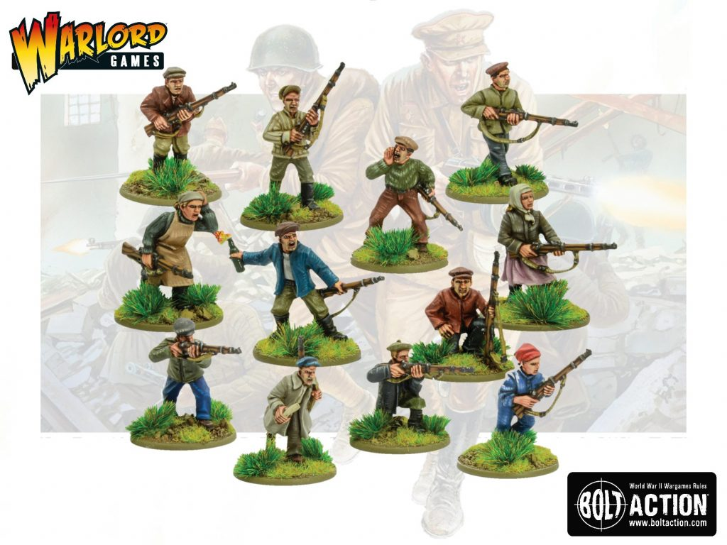 The Soviet People's Militia Squad - Bolt Action