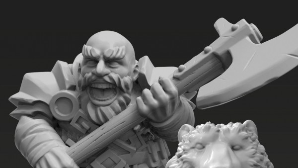 One Page Rules Bundle An Entire Dwarf Army For 3D Printers