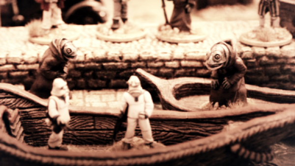 Blind Beggar Miniatures Foulmouth Folk Have A Fishy Feel & The Innsmouth Look