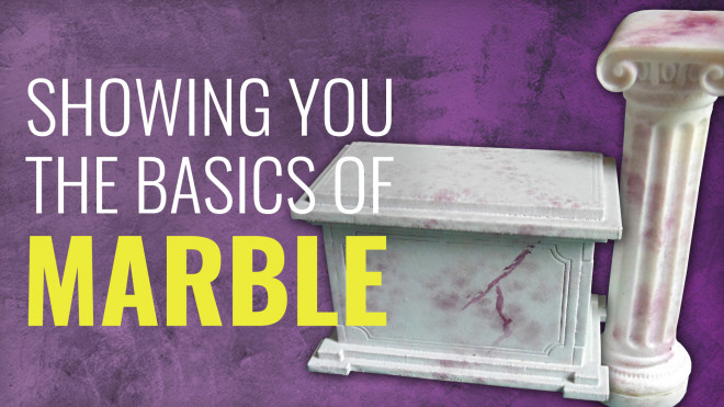 Gerry Can Show You How To Paint Marble