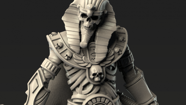OnePageRules Show Off Ace Mummified Undead For Patreon