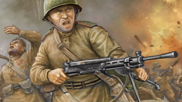 Race To Minsk With New WWII Flames Of War Soviet Packs