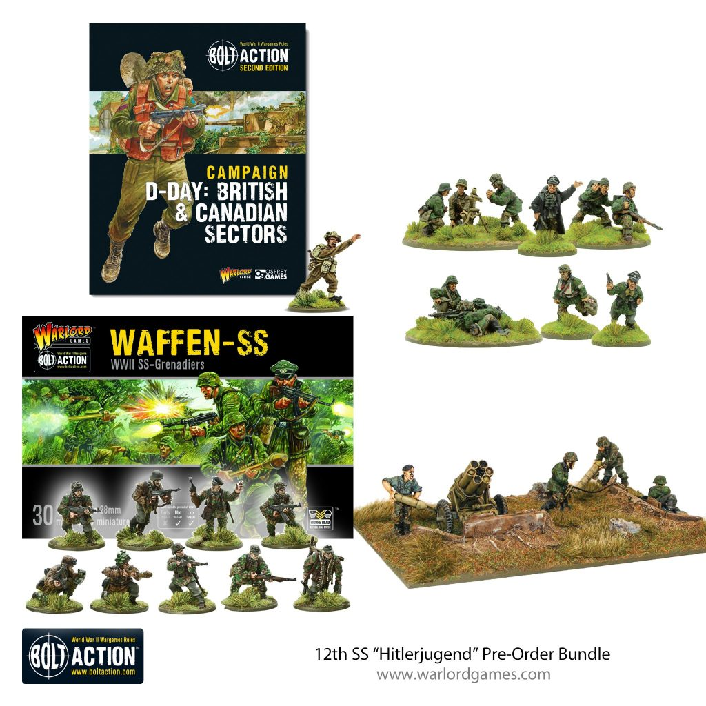 12th SS Hitlerjugend Pre-Order Bundle - Bolt Action