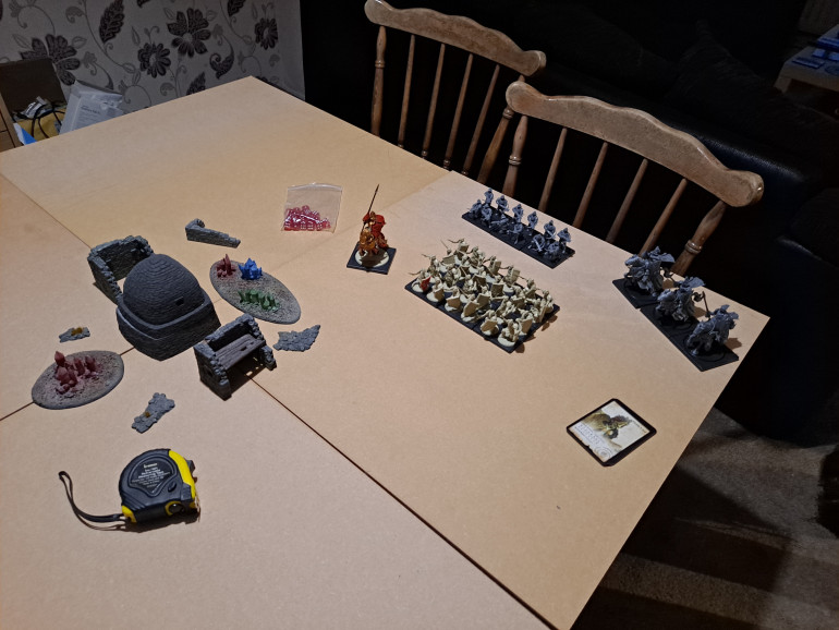 A small battle Report