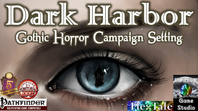 Dark Harbor: Gothic Horror Fantasy RPG Campaign Setting