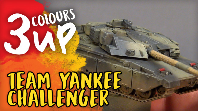 Challenger Tank Miniature Painting Tutorial | Team Yankee