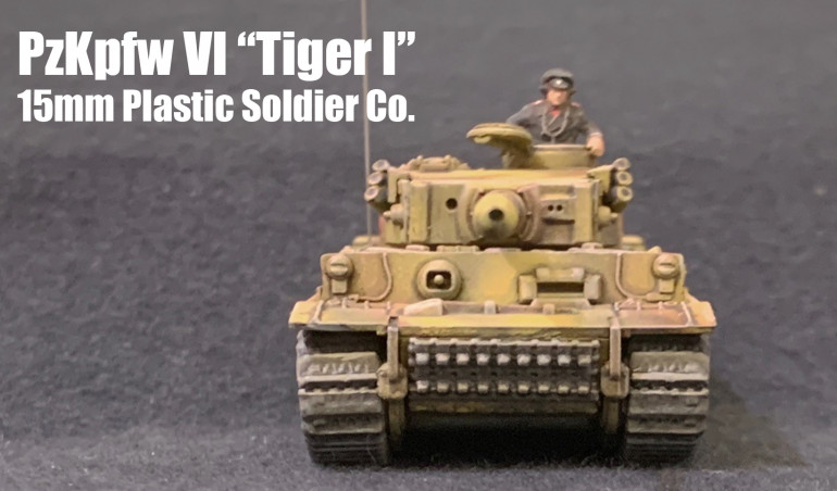 Achtung!  Tiger!  All my Soviet and British and American tank minis suddenly feel less comfortable.