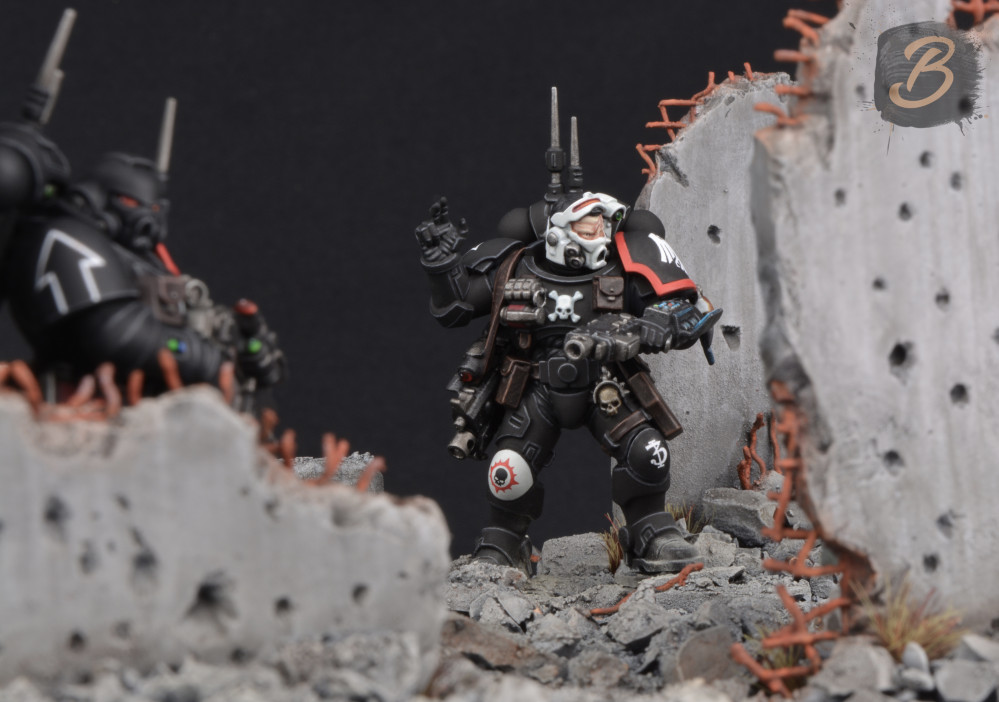Primaris Marines – Chapter and Verse by Brushstroke