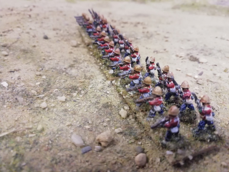 More 10m Zulu war. This time British from pendraken I also won a desert fort in a competition from sarissa. I put it together today. Hope to use it in the Sudan or perhaps with my afghans
