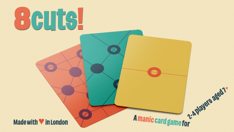 8cuts! a ridiculously addictive and fast-paced card game
