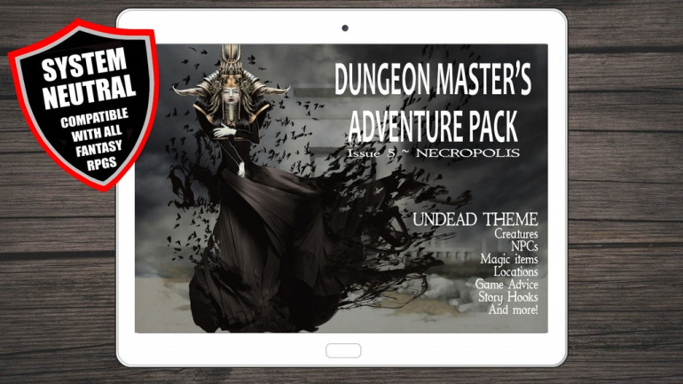 Dungeon Master's Adventure Pack Issue 5 - Necropolis