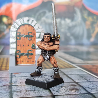 You are the Barbarian, the greatest warrior of all..'