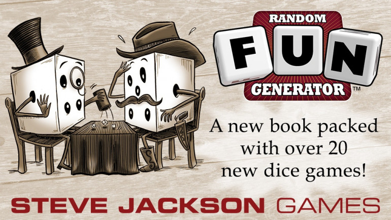 Random Fun Generator, Dice Games from Steve Jackson Games