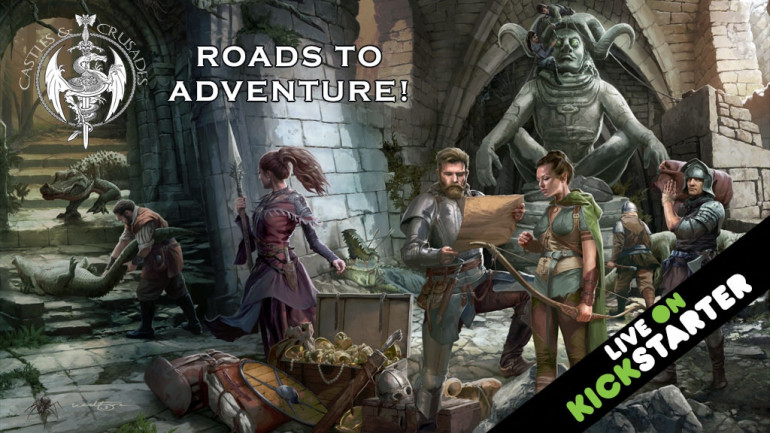 Castles & Crusades Roads to Adventure