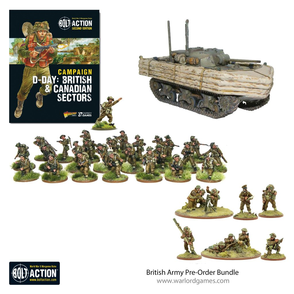 British Army Pre-Order Bundle - Bolt Action