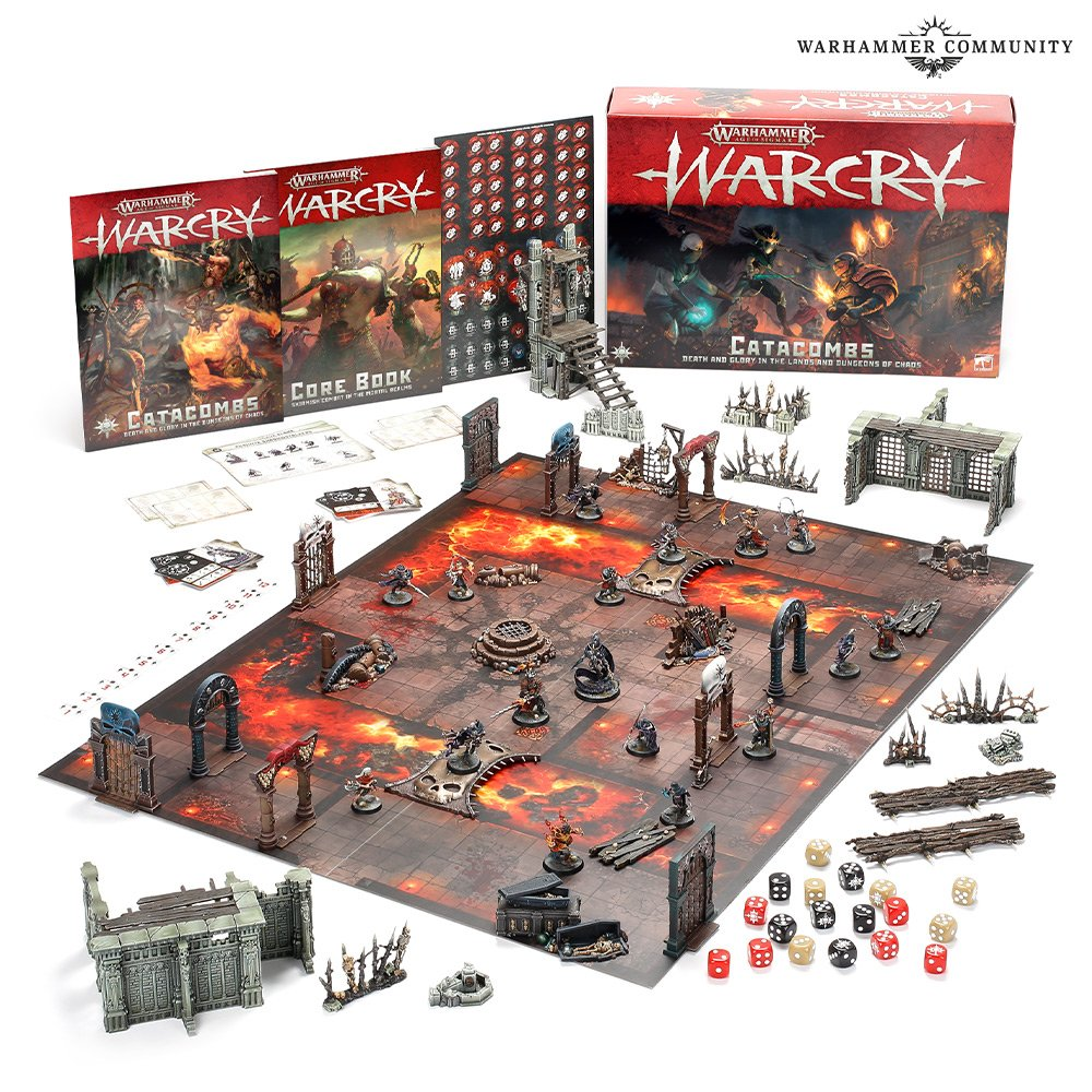 Catacombs Starter Set - Warcry