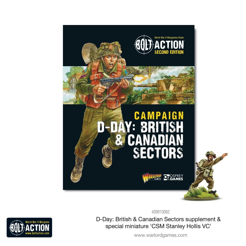 D-Day British & Canadian Sectors Supplement - Bolt Action