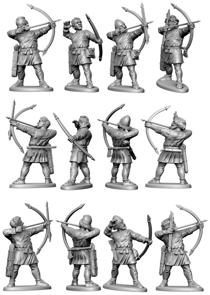 Dark Age Archers - Victrix Limited