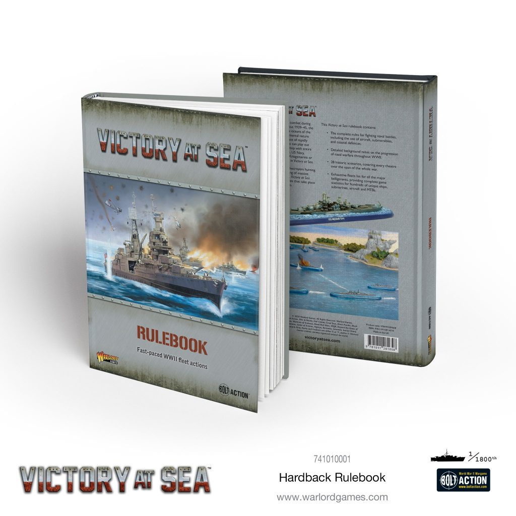 Hardback Rulebook - Victory At Sea