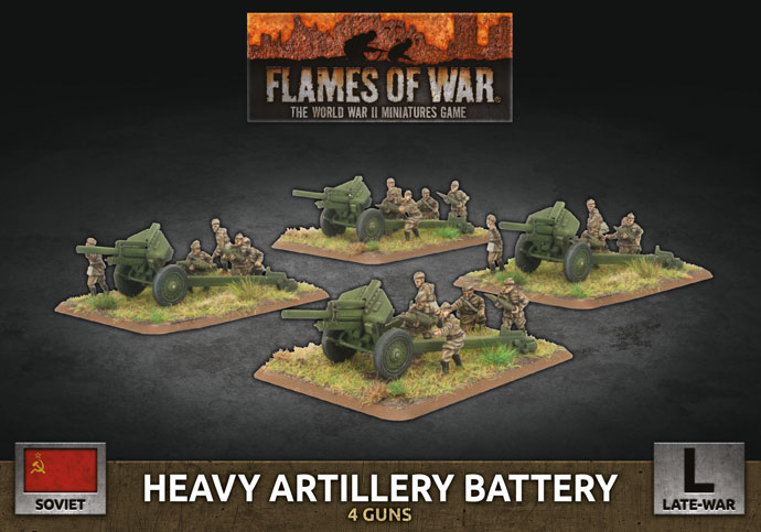 Heavy Artillery Battery - Flames Of War