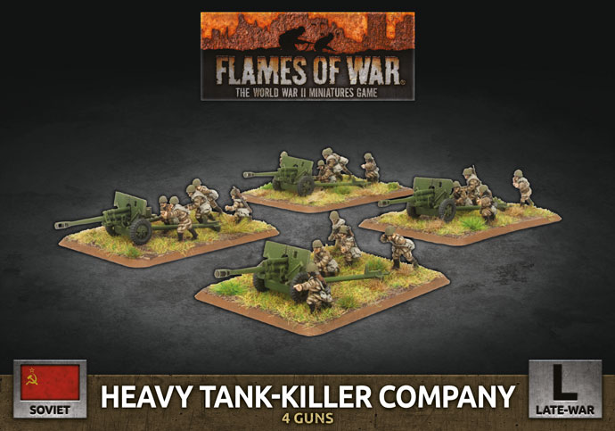 Heavy Tank-Killer Company - Flames Of War