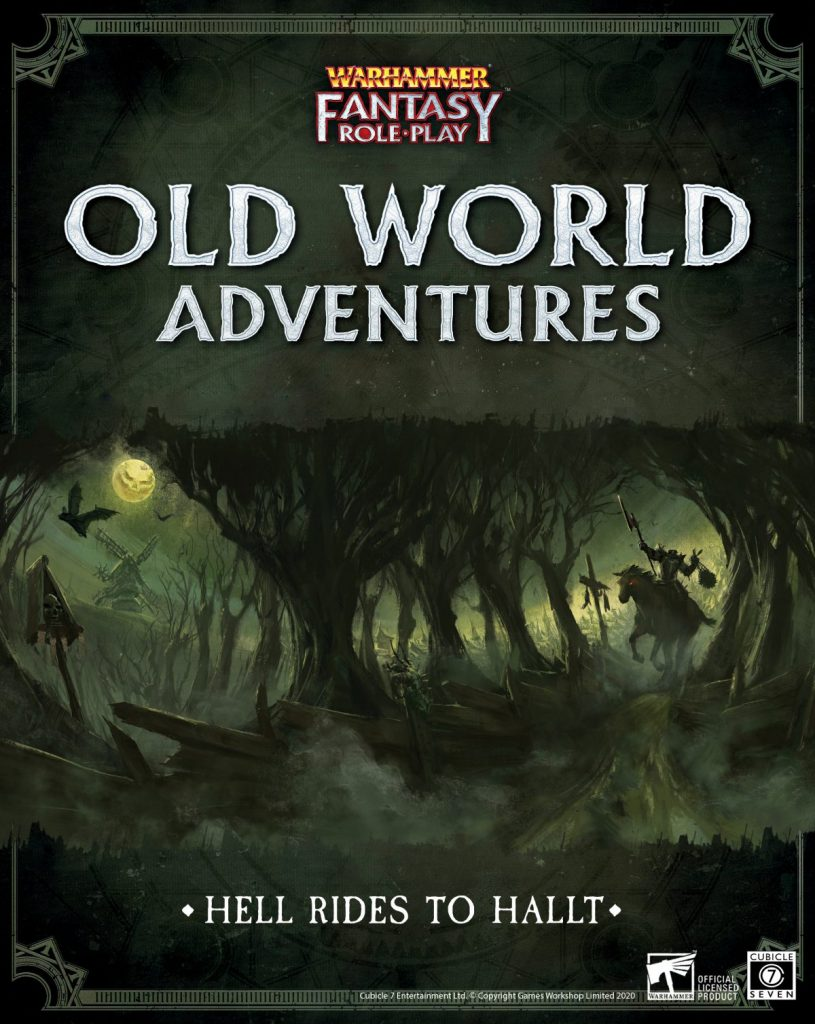 Hell Rides To Hallt - Cubicle 7