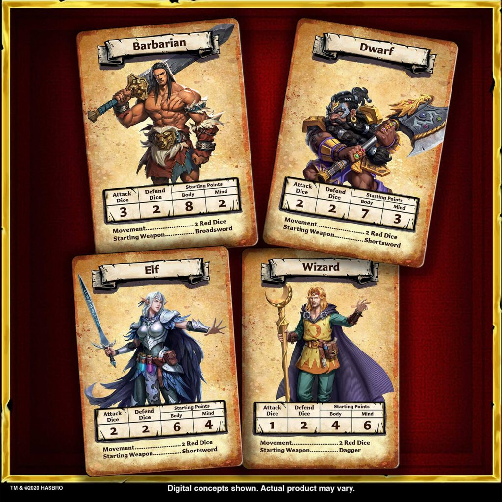 HeroQuest Heroes - Avalon Hill