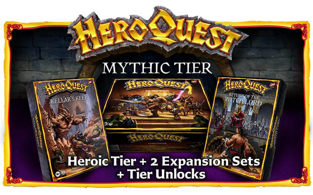HeroQuest Mythic Tier - Avalon Hill