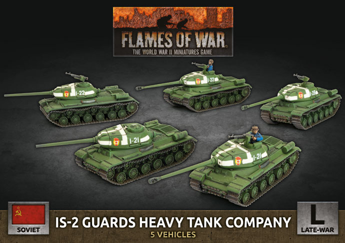 IS-2 Guards Heavy Tank Company - Flames Of War