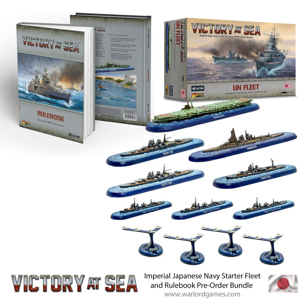 Imperial Japanese Navy Starter Fleet Bundle - Victory At Sea
