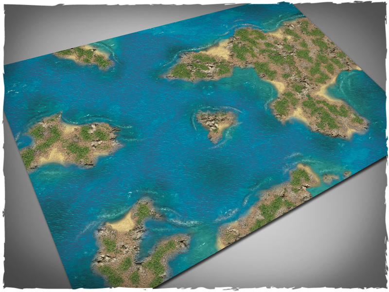 Island Game Mat Full - Deep Cut Studio
