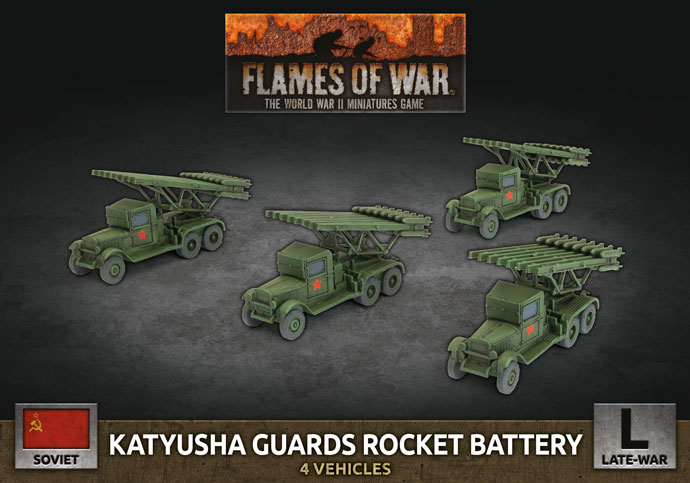Katyusha Guards Rocket Battery - Flames Of War
