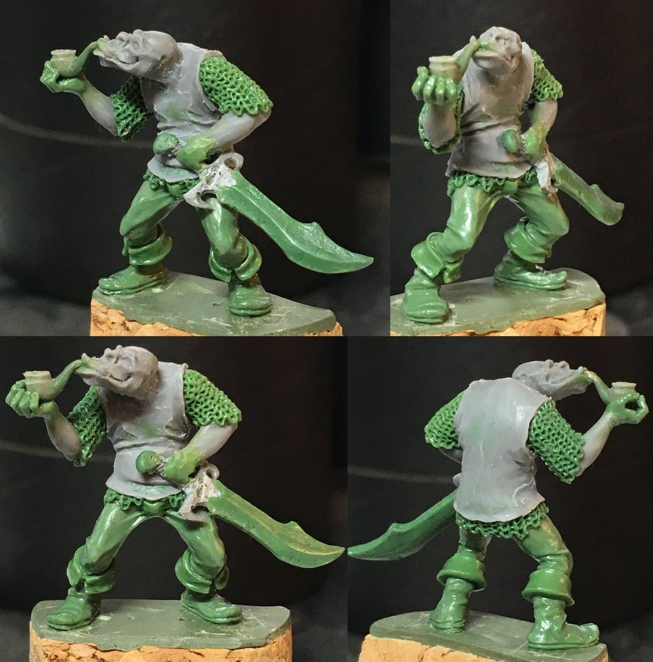 Klapsung The Orc - Hasslefree Miniatures