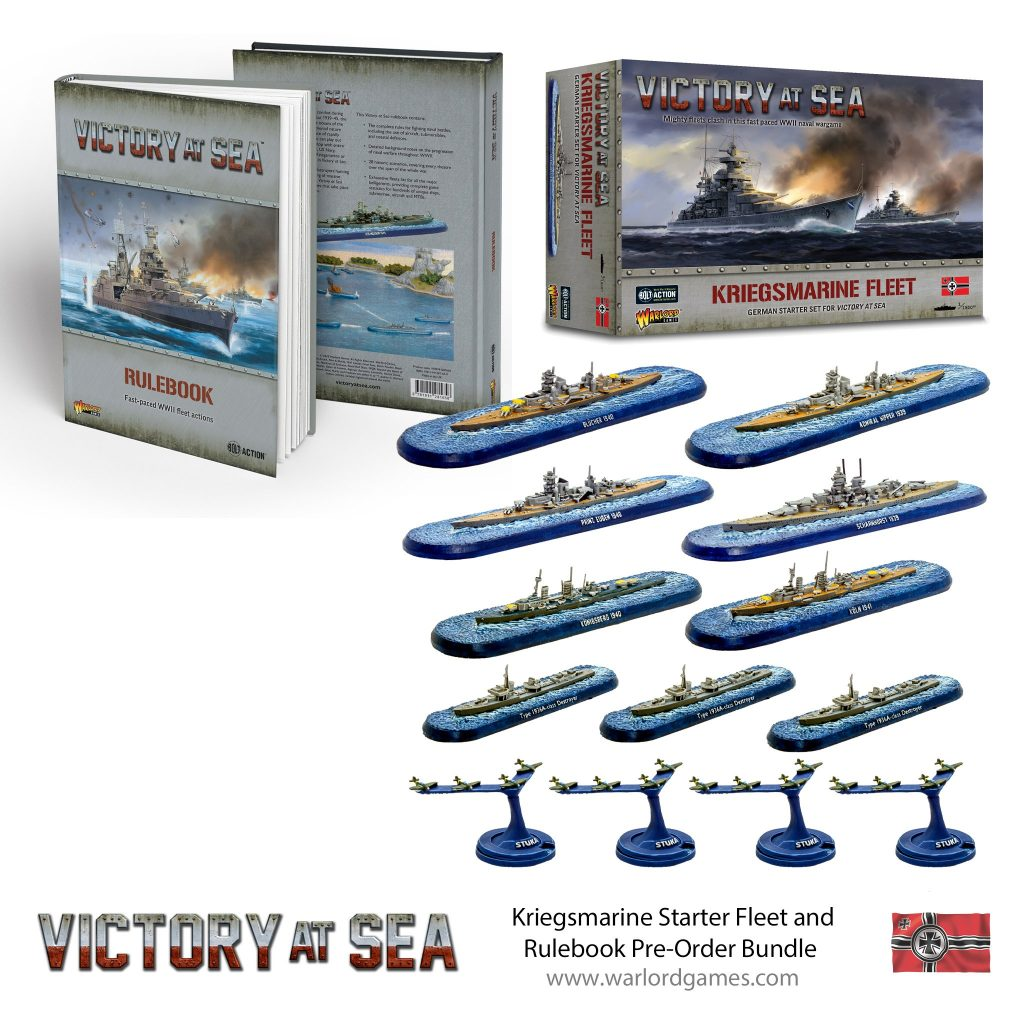 Kriegsmarine Starter Fleet Bundle - Victory At Sea