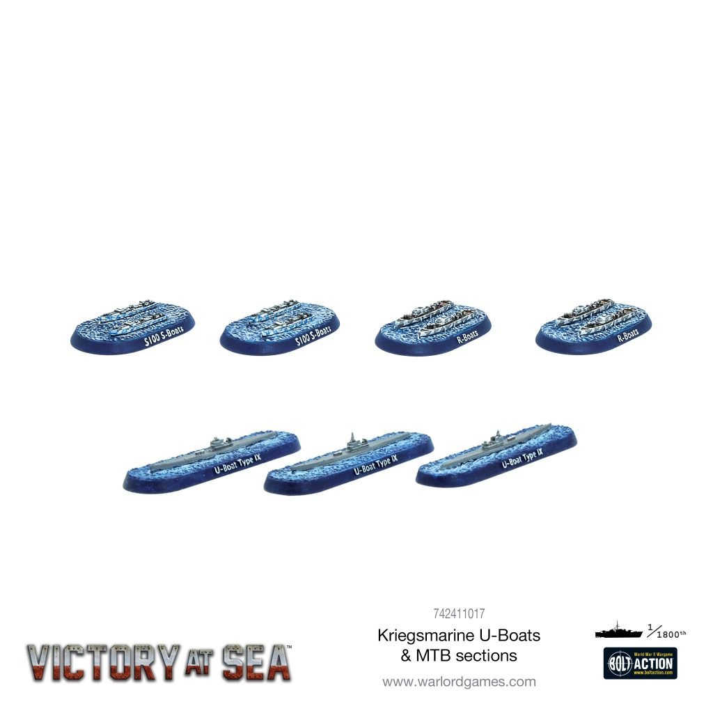 Kriegsmarine U-Boats & MTB Sections - Victory At Sea