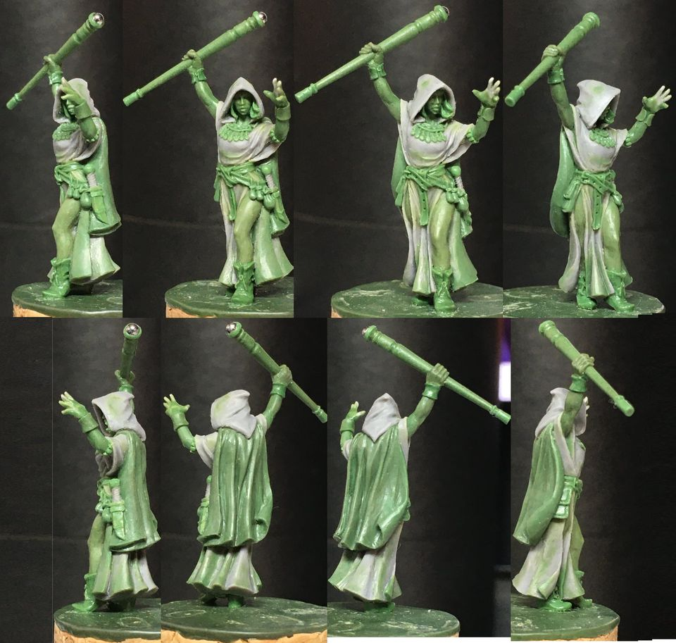 Lady Mage - Hasslefree Miniatures
