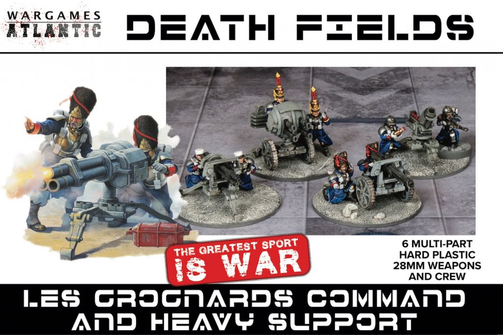 Les Grognards Command & Heavy Support - Wargames Atlantic