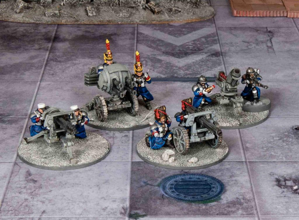 Les Grognards Heavy Weapons - Wargames Atlantic