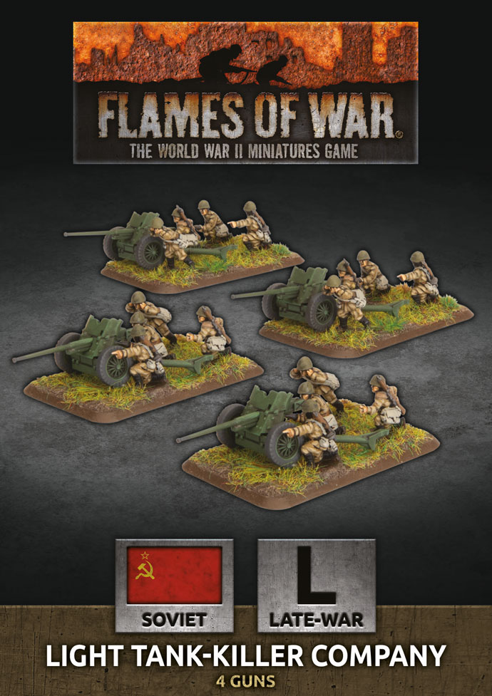Light Tank-Killer Company - Flames Of War