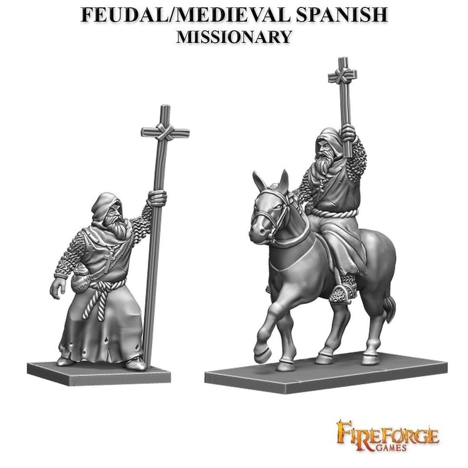 Medieval Spanish Missionary - FireForge Games