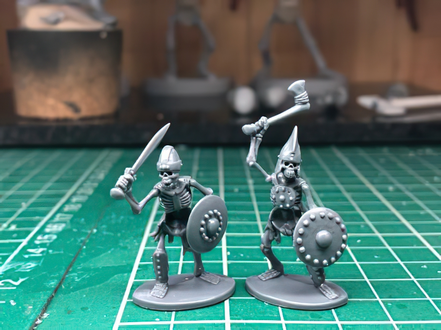 Oathmark Skeletons #2 - North Star Military Figures
