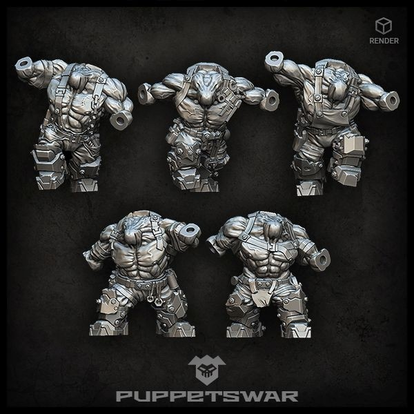Orc Bodies Puppets War