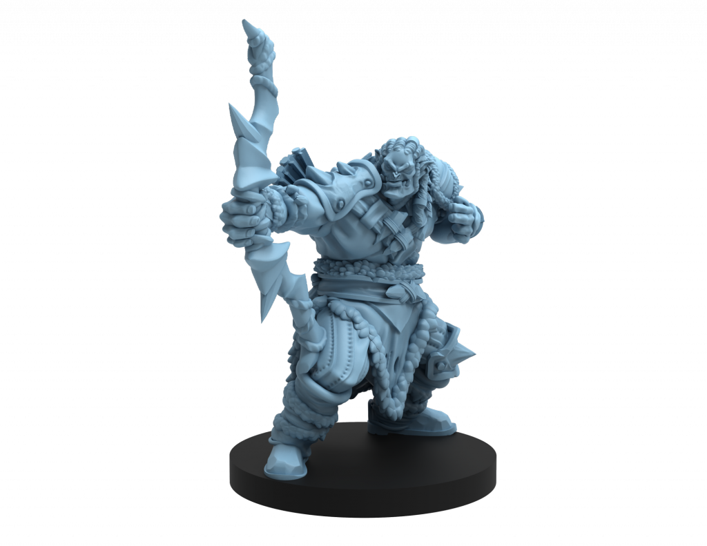 Orc Bowman - Steamforged Games