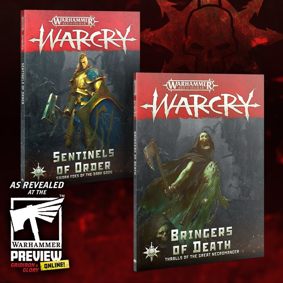 Order & Death Books - Warcry