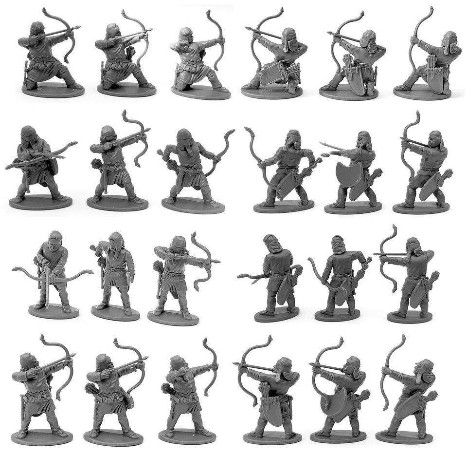 Persian Unarmoured Archers Miniatures - Victrix Limited
