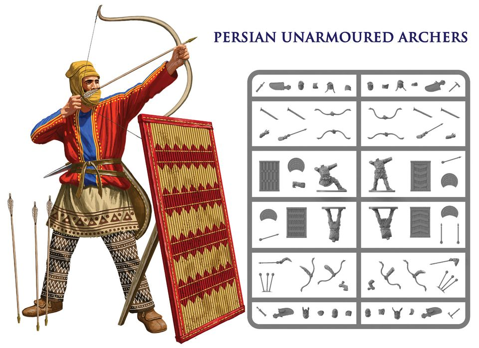 Persian Unarmoured Archers - Victrix Limited