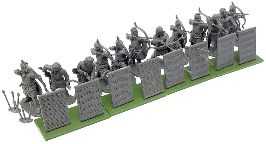 Persian Unarmoured Archers With Spara - Victrix Limited